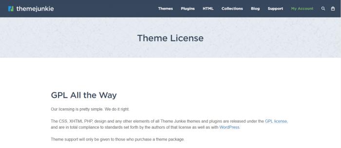 Beginner Theme License