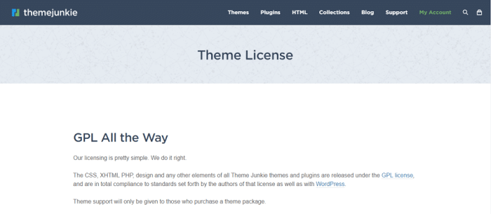 Beginner Theme License