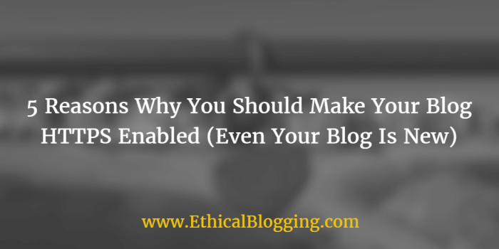 Make Your Blog HTTPS Enabled Featured Image