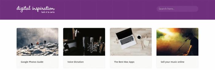 Labnol Homepage Screenshot