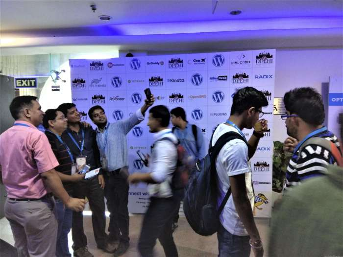People are Enjoying Themselves [WordCamp Delhi 2017]