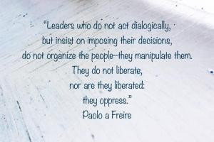 Freire: Liberate
