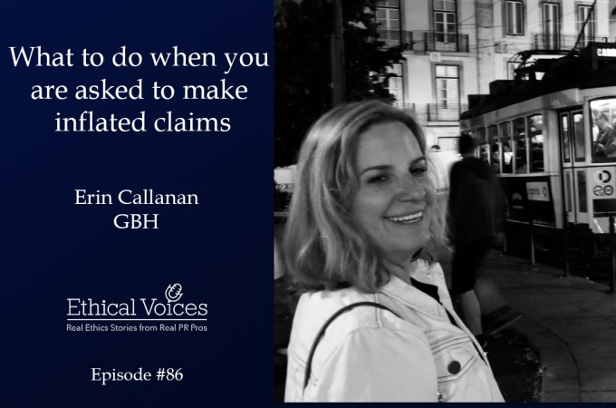 What to do when you are asked to make inflated claims