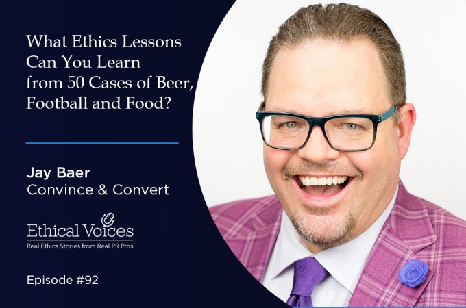 What Ethics Lessons Can You Learn from 50 Cases of Beer, Football and Food? - Jay Baer