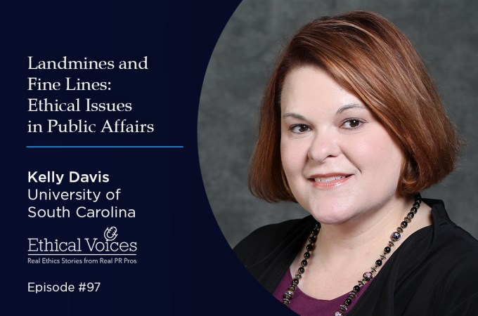 Landmines and Fine Lines: Ethical Issues in Public Affairs – Kelly Davis