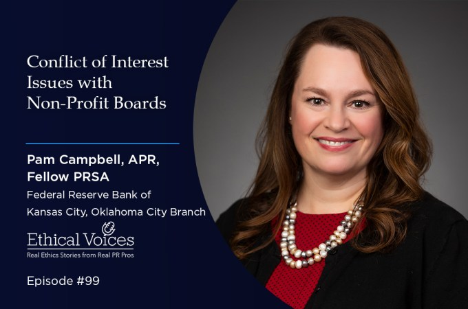 Conflict of Interest Issues with Non-Profit Boards – Pam Campbell