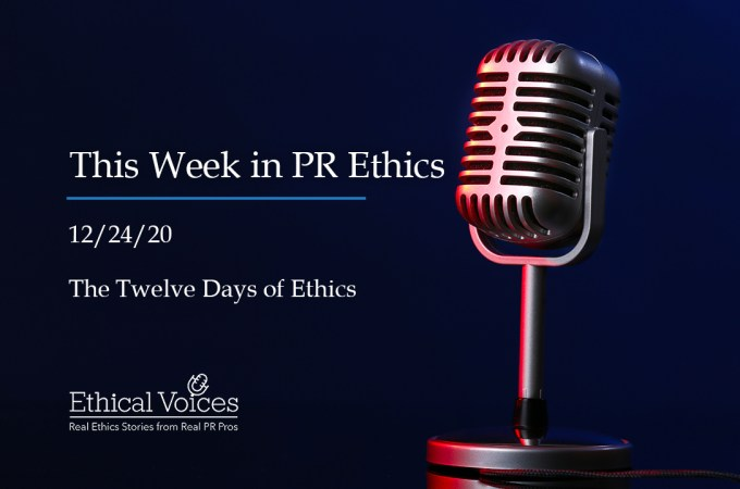 The Twelve Days of Ethics