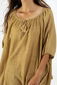 CHEMISE-OCRE