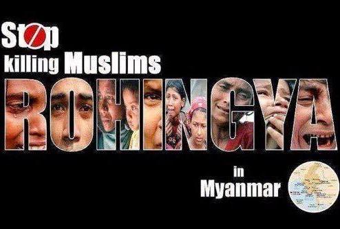 killing Rohingyas