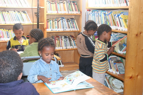 Ethiopia Reads Celebrates! Shola Library - Ethiopia Reads