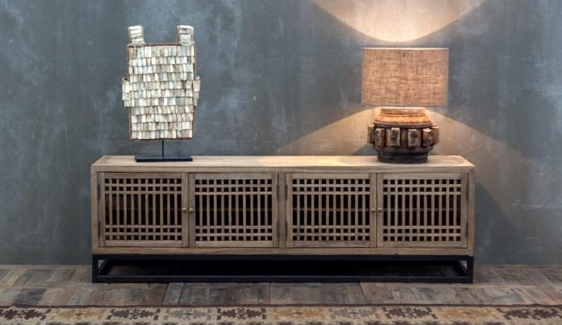 Porta tv etnico dogato Mobili industrial vintage shabby chic