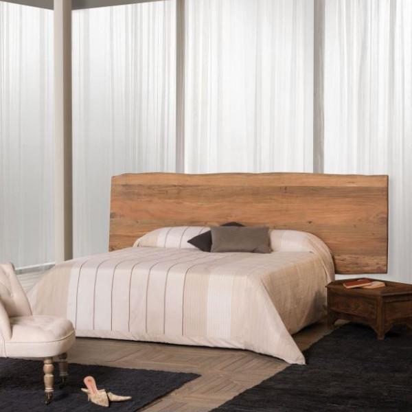 Testata letto legno di sheesham massello naturale Mobili etnici