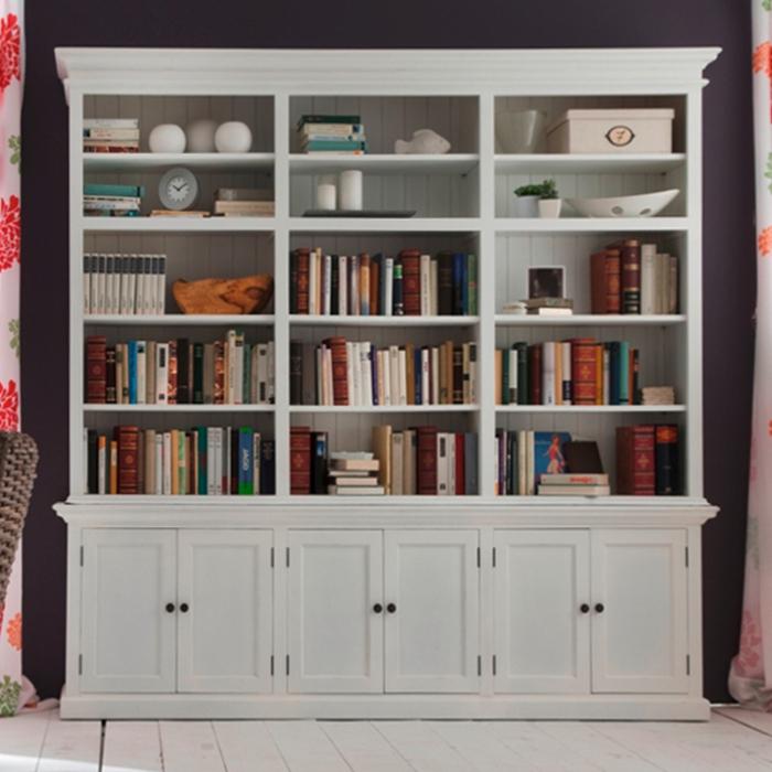 Shabby chic ikea, mobili e complementi per tutti gli ambienti della casa: Libreria Tripla Provenzale Mobili Provenzali Shabby Chic