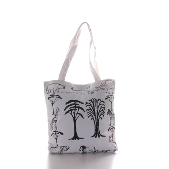 Handmade african tote from Tanzania