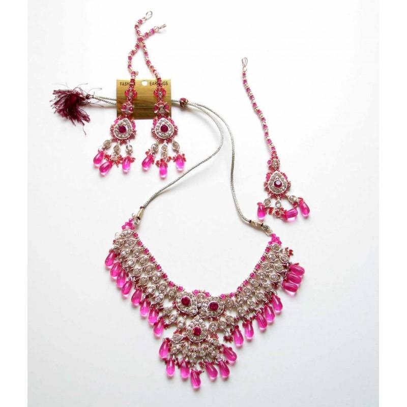 Achat Parure indienne bijoux mariage bollywood pour femme peu cher  Bijoux dInde