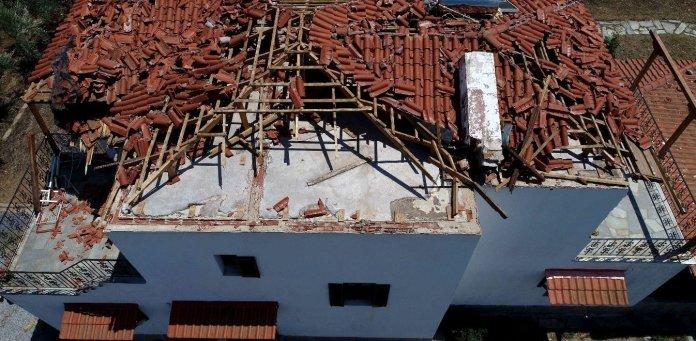 Χαλκιδική: Η πορεία της καταιγίδας - Πώς άρχισε και πώς εξελίχθηκε (vid)