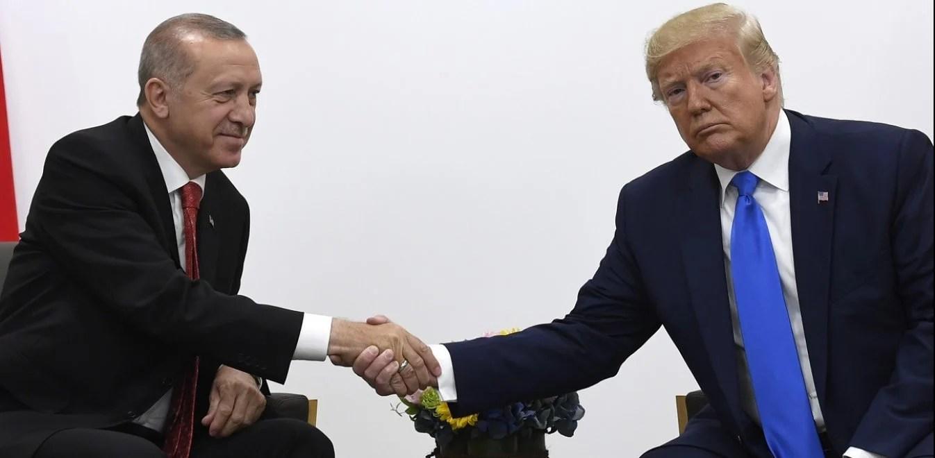Τραμπ - Ερντογάν: Συνάντηση υψηλού πολιτικού ρίσκου μέσα σε ναρκοπέδιο