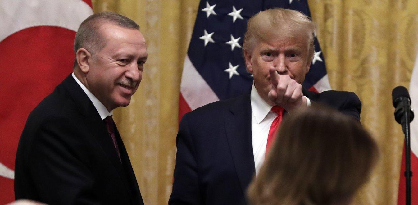 Ανάλυση από Ιγνατίου και Ζαχαράκη στο Open TV για το ραντεβού Τραμπ-Ερντογάν