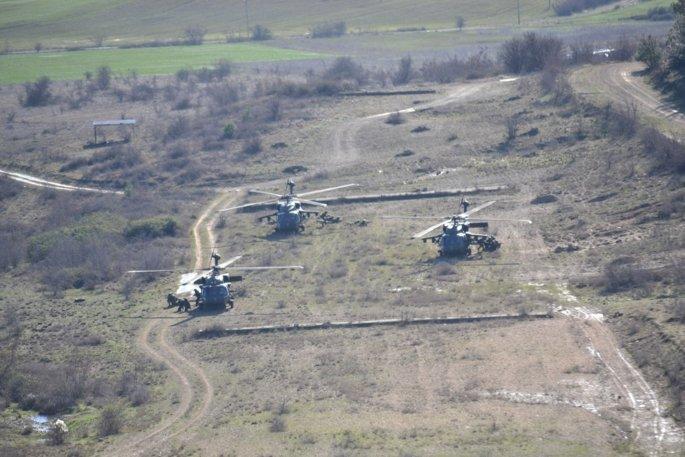 Κοινή άσκηση ενόπλων δυνάμεων Ελλάδας-ΗΠΑ