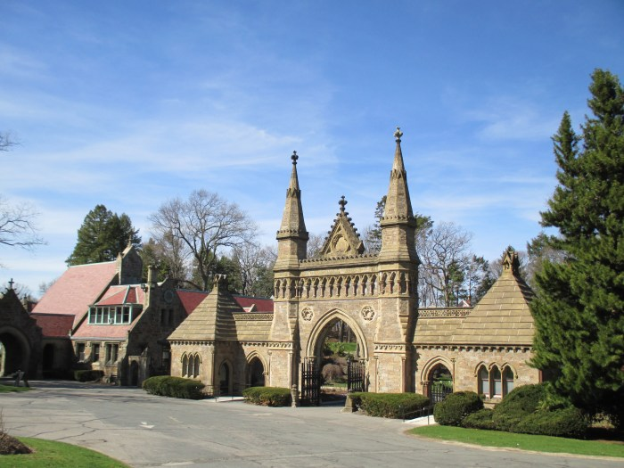 The Gateway to Forest Hills Cemetery