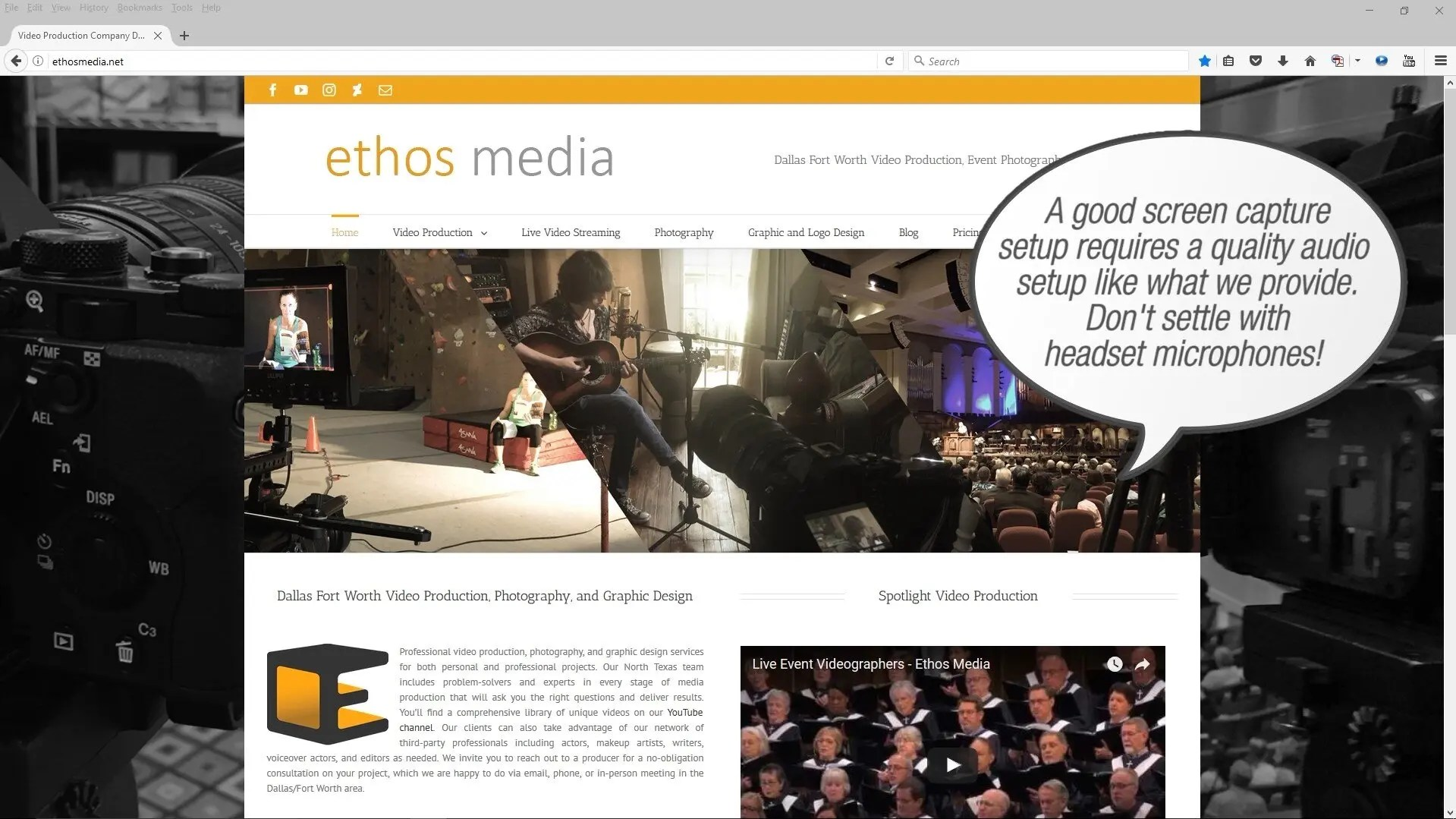 Screen Capture Video Production Services