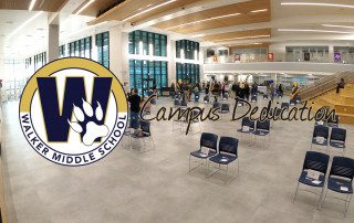 Walker MS Campus Dedication