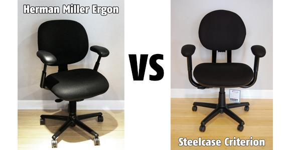 Task Chair Showdown Steelcase Criterion vs Herman Miller