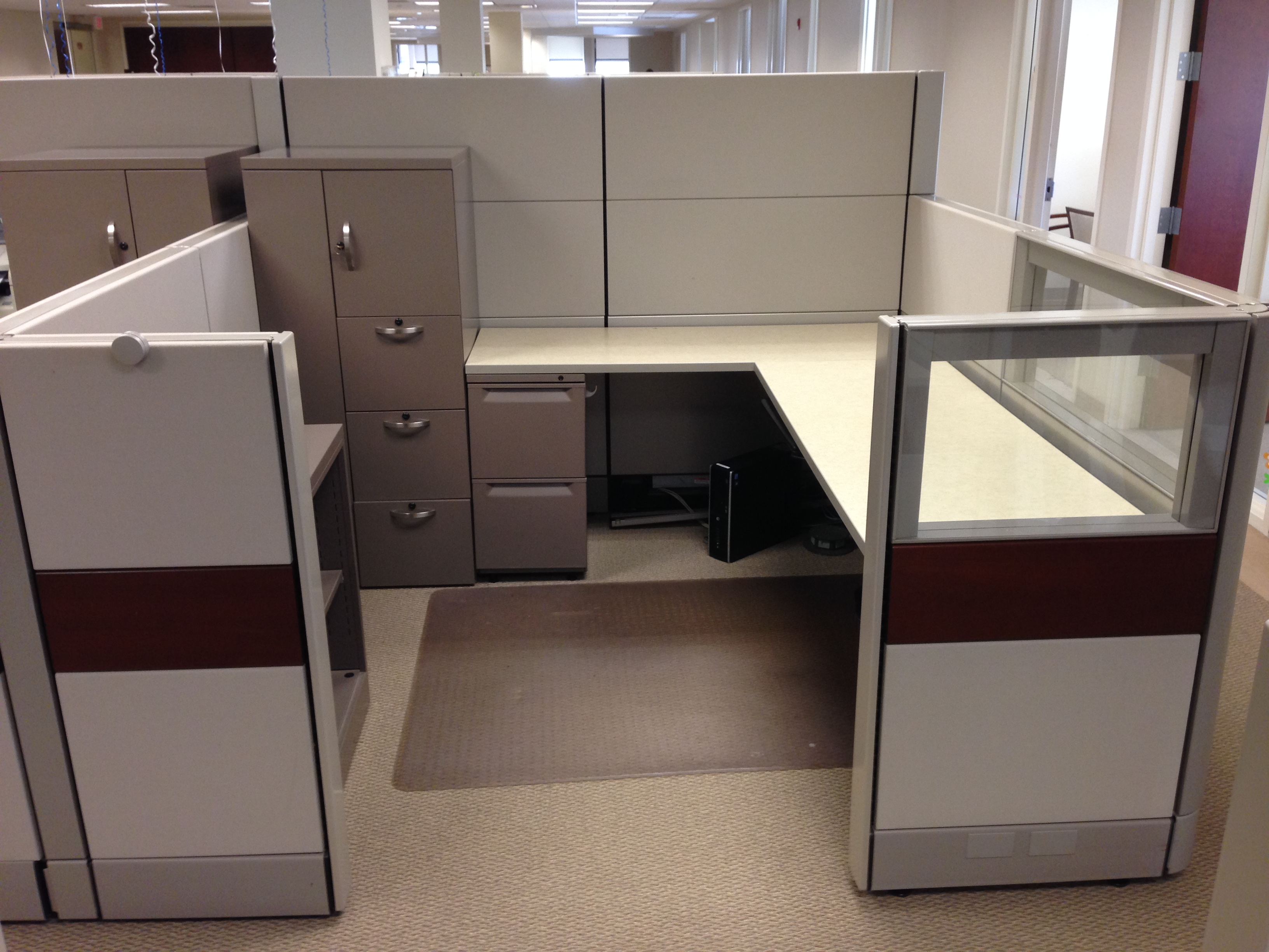 7x 7 MultiHeight Ethospace Workstations  Office