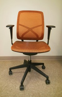 Pixel Chair (Orange)