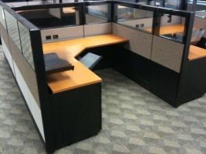 Used Herman Miller Ethospace Cubicle  Office Furniture