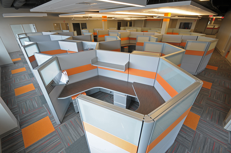 Seated Privacy Refurbished Office Cubicle  Office