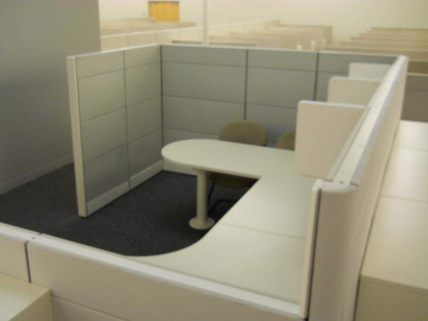 Used Herman Miller UShaped Ethospace  Office Furniture