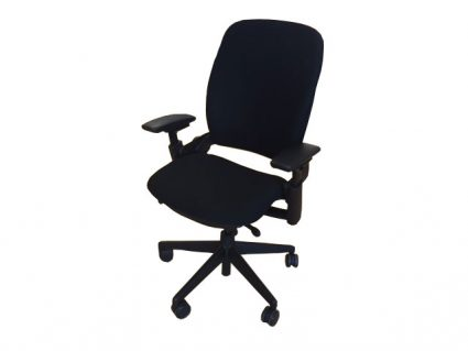steelcase leap chair papasan outdoor refurbished version 2 black frame office inventory