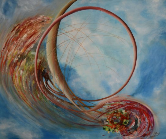 Danza-delluniverso-120x100cm-2004