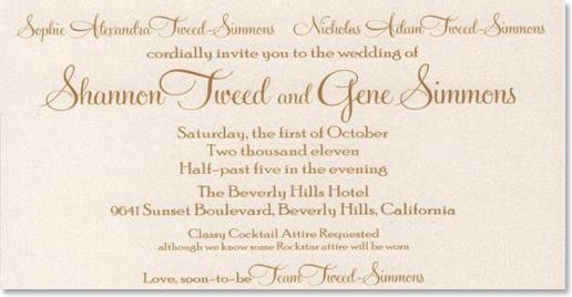 Wedding Invitation Dress Code