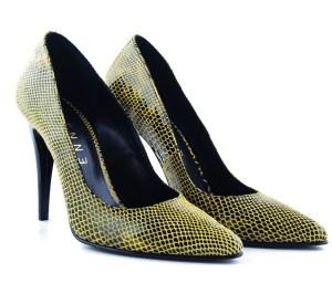 pantofi snake print