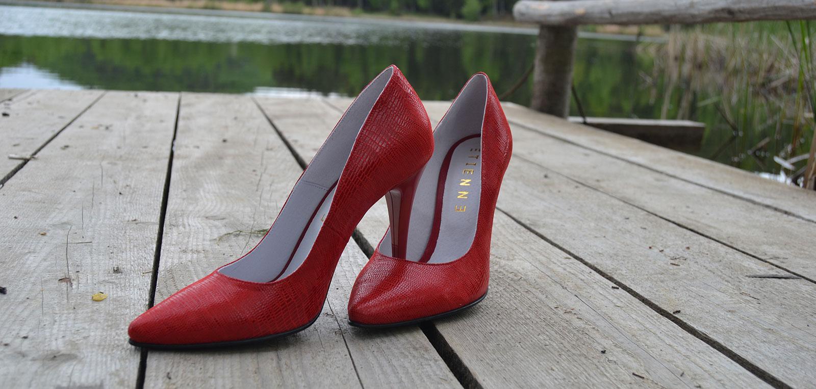 pantofi super de dama rosii