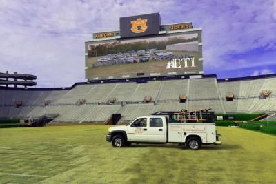 Auburn University Jumbo Tron Screen Install