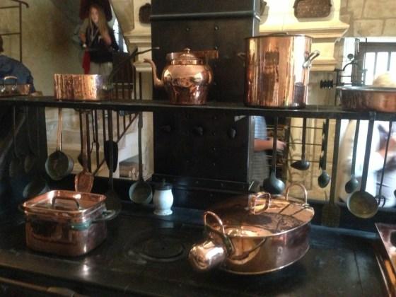 Chenonceaux (Šenonso pilies virtuvės dalis)