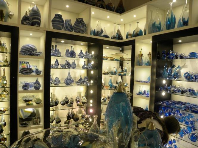 Tradiciniai Maltos stiklo dirbiniai