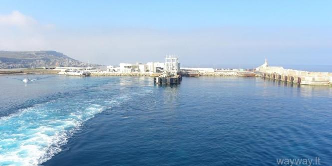 Cirkewwa uostas. Malta