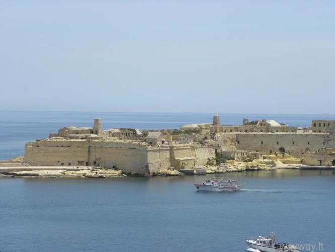 Malta. 7 diena. Maltos sostinė Valeta ir  Barrakka sodai