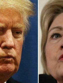 انتخابات امریکا: کلینتون و ترامپ بردند، جب بوش انصراف داد