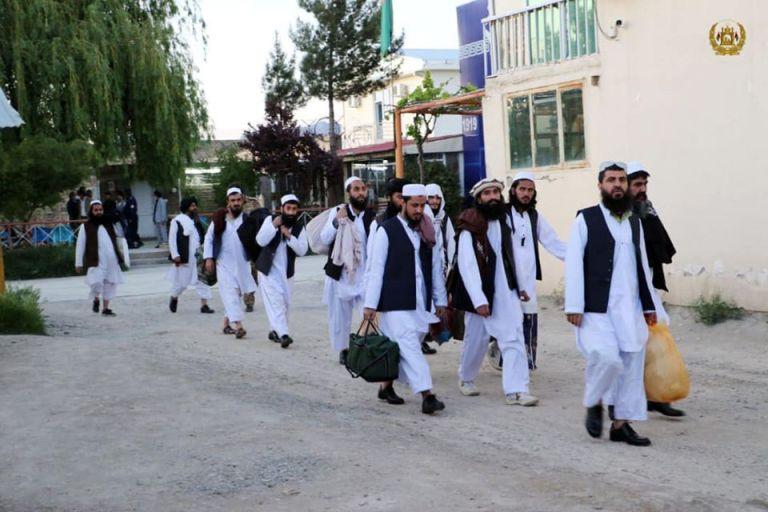 رهایی زندانیان طالبان