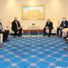دیدار مایک پمپئو با هیأتهای مذاکرهکنندهی دولت و طالبان