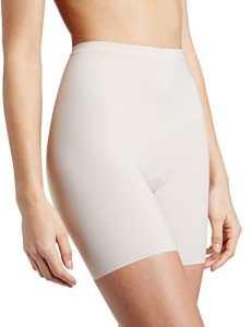 Maidenform Sleek Smoothers – Leggings sculptants – Uni – Femme – Beige (Paris Nude) – FR: 42 (Taille fabricant: L)