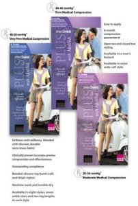 Mediven Plus, Panty, 40-50mmHg, Open Toe, Compression Stocking, Beige, IV by MEDI-USA