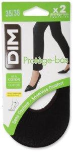 Dim – Protège-bas & Socquettes – Lot de 2 – 85 DEN – Femme – Noir – FR : 40 (Taille fabricant: 39/42)