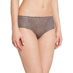 Calvin Klein Underwear – All Lace Hipster – Shorties – Uni – Femme – Gris (Ashford Grey) – FR : 40 (Taille fabricant : L)