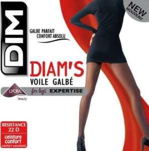 Dim Diam's Voile Galbé – Collants – 22 deniers – Femme – Poivre – 2
